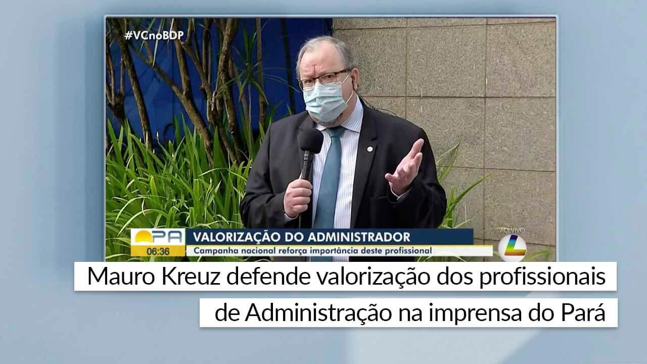 Read more about the article Entrevista foi concedida ao Bom Dia Pará e ao O Liberal