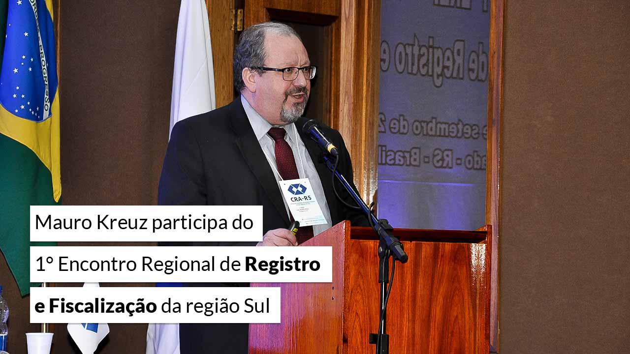 Read more about the article Encontro aprofunda o debate sobre Fiscalização e Registro